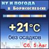 Ну и погода в Борисоглебске - Поминутный прогноз погоды